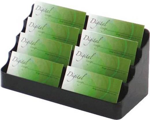 Deflecto Visitenkartenhalter/DE70804 199 x 89 x 98 mm bis 8 x 60 Karten 8 Fächer