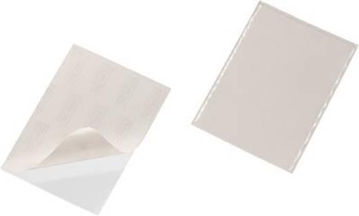 Durable Selbstklebetasche Pocketfix Verwendung für Papierformat: DIN A5 (B x H) 240 mm x 180 mm Transparent 25 St. 8294-
