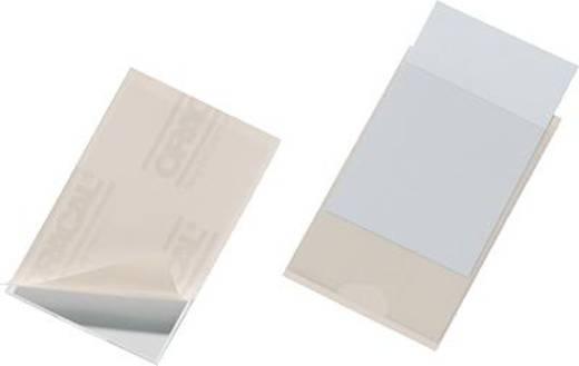 Durable Selbstklebetasche Pocketfix (B x H) 90 mm x 57 mm Transparent 100 St. 8379-19