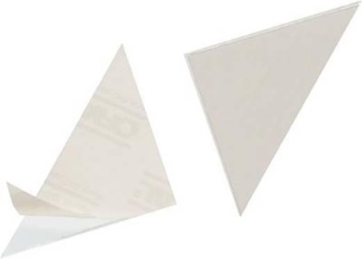 DURABLE Dreiecktaschen CORNERFIX/8281-19 75 x 75 mm 100