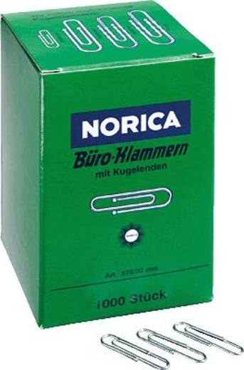 NORICA Brief- und Aktenklammern/2220 32 mm 1000 verzinkt