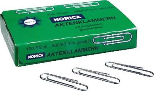 NORICA Brief- und Aktenklammern/2261 50 mm 100 verzinkt