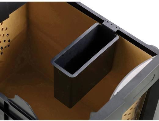 Aktenvernichter Rexel Auto+ 300X Partikelschnitt Sicherheitsstufe 4 Vernichtet auch Büroklammern, CDs, DVDs, Heftklammern, Kreditkarte