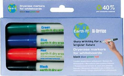 Bi-Office Whiteboardmarker Earth-It /PE2206 4
