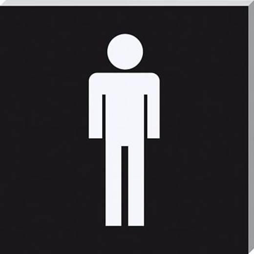 Sigel Piktogramm PA302 WC Herren sw/si