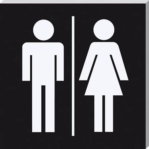 Sigel Piktogramm PA303 WC Herren/Damen