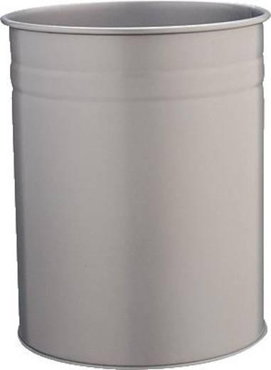 DURABLE Papierkorb Metall rund 15 Liter/3304-01 schwarz