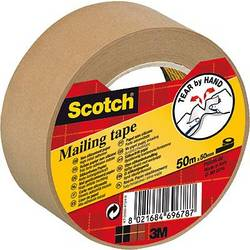 Baliace lepiaca páska 3M 7000095747, (d x š) 50 m x 50 mm, hnedá, 1 ks