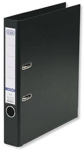 ELBA Ordner smart PP/PP/10464sw B285 x H318 mm schwarz 50 mm