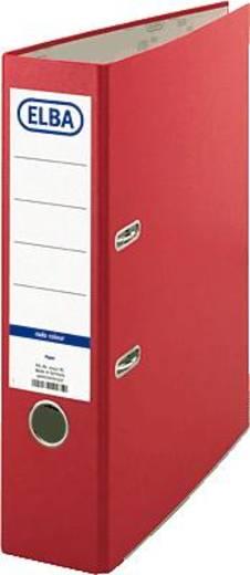 ELBA Ordner smart Colour-Papier/10457RO B285 x H318 mm rot 80 mm