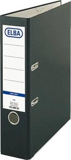 ELBA Ordner smart Colour-Papier/10457SW B285 x H318 mm schwarz 80 mm