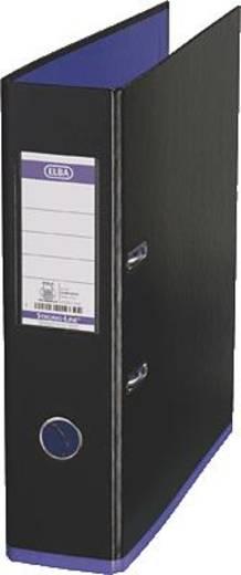 ELBA Ordner myColour PP/10489SW/VI B285 x H318 mm schwarz/violett 80 mm