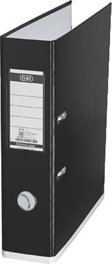 ELBA Ordner myColour PP/10489SW/WE B285 x H318 mm schwarz/weiß 80 mm