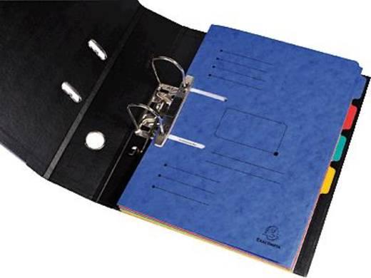 Exacompta Sammelmappe A4 zum abheften/447002E blau Manila-Karton