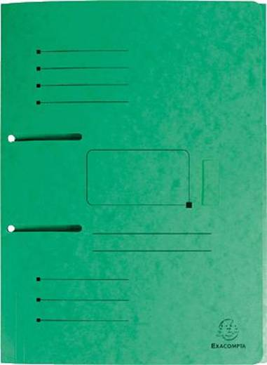 Exacompta Sammelmappe A4 zum abheften/447003E grün Manila-Karton