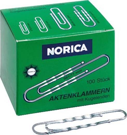 NORICA Brief- und Aktenklammern/2262 77 mm 100 verzinkt