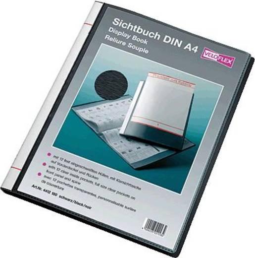 Veloflex Sichtbuch 4412180 schwarz A4