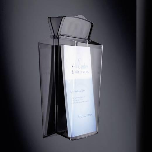Sigel Prospekthalter LH325 Acrylglas klar 247 mm x 339 mm x 88 mm Anzahl der Fächer 1
