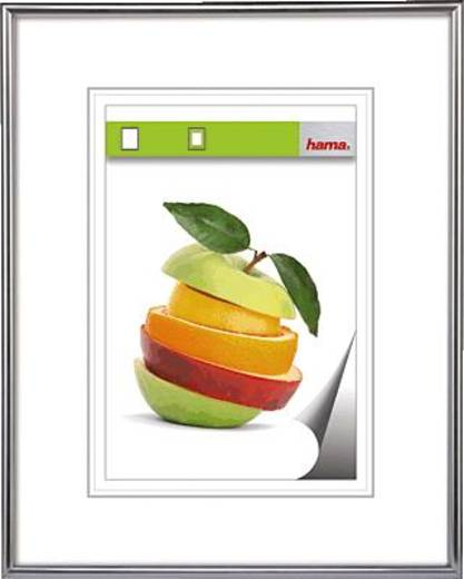 Hama Kunststoffrahmen Sevilla/00061778 40 x 50 cm silbermatt