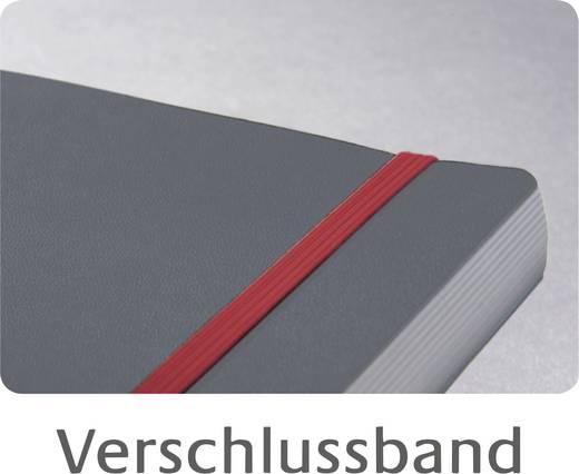 Avery-Zweckform Notizbuch kariert Dunkelgrau Anzahl der Blätter: 90 DIN A4