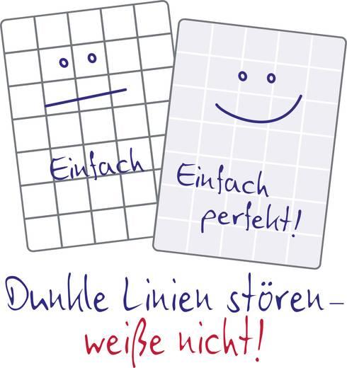Avery-Zweckform Notizbuch notizio 7019 kariert Grau Anzahl der Blätter: 80 DIN A5
