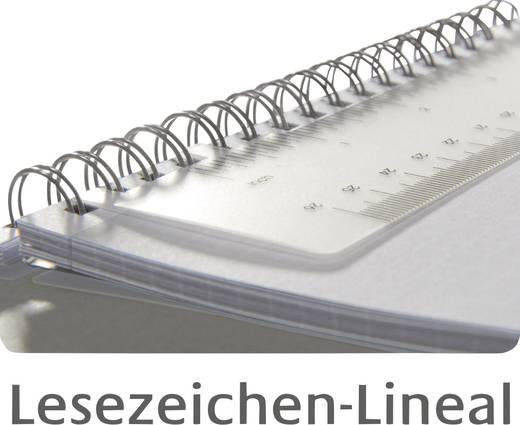 Avery-Zweckform Notizbuch notizio 7011 kariert Hellgrau Anzahl der Blätter: 80 DIN A5