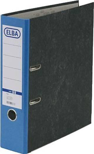 ELBA Ordner rado basic, Wolkenmarmor/10428BL für DIN A4 blau