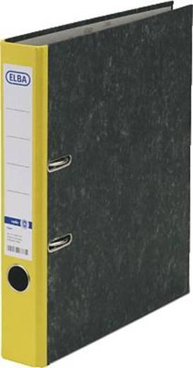 ELBA Ordner rado basic, Wolkenmarmor/10425GB für DIN A4 gelb