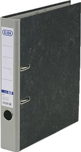 ELBA Ordner rado basic A4 50 mm, Wolkenmarmor/10425 GR für DIN A4 grau