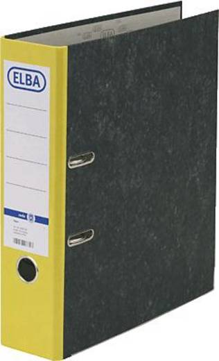 ELBA Ordner rado basic, Wolkenmarmor/10428GB für DIN A4 gelb