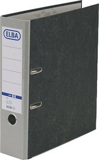 ELBA Ordner rado basic, Wolkenmarmor/10428GR für DIN A4 grau