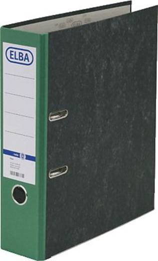 ELBA Ordner rado basic, Wolkenmarmor/10428GN für DIN A4 grün