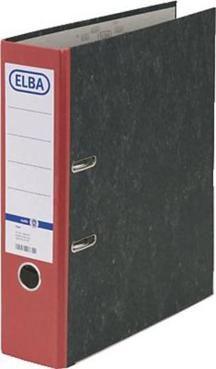 ELBA Ordner rado basic, Wolkenmarmor/10428RO für DIN A4 rot