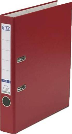 ELBA Ordner rado basic, PP/Papier/10453RO DIN A4 rot