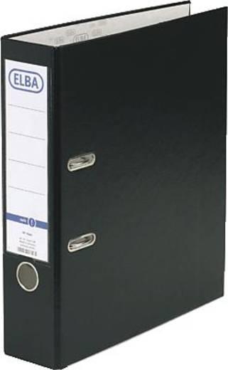 Elba Ordner rado basic DIN A4 Rückenbreite: 80 mm Schwarz 2 Bügel 10456SW