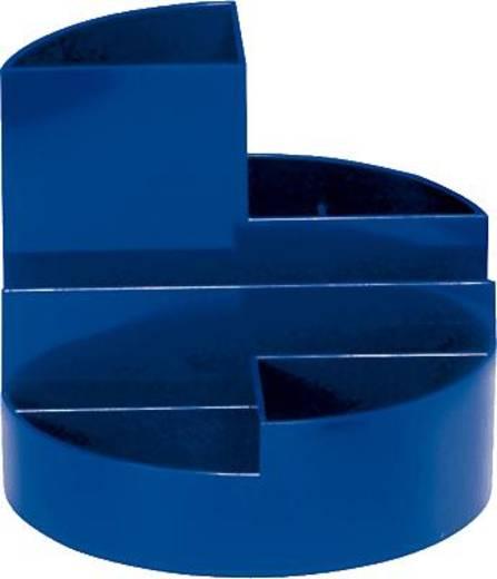 Maul Stifteköcher Rundbox/4117637 HxØ 125x140mm blau