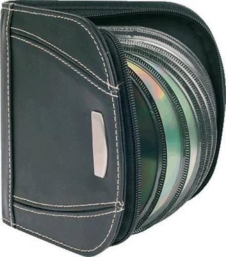 5 Star CD/DVD Lederetui schwarz