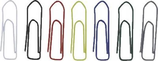 ALCO Briefklammern farbig lackiert 456-26, bunt, 26 mm, Inh. 100