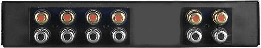 SpeaKa Professional SPC-5 HQ 2 Port Lautsprecher-Umschalter integrierter Lautstärkeregler Schwarz