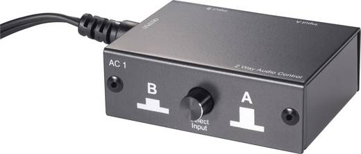 SpeaKa Professional 2 Port Cinch-Audio-Switch