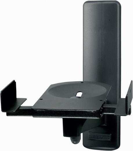 Lautsprecher-Wandhalterung Neigbar, Schwenkbar Wandabstand (max.): 27.3 cm B-Tech BT77 Schwarz 1 Paar
