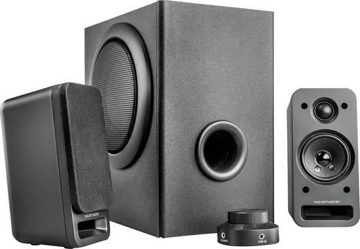 2.1 PC-Lautsprecher Kabelgebunden Wavemaster MX 3+ 50 W Anthrazit