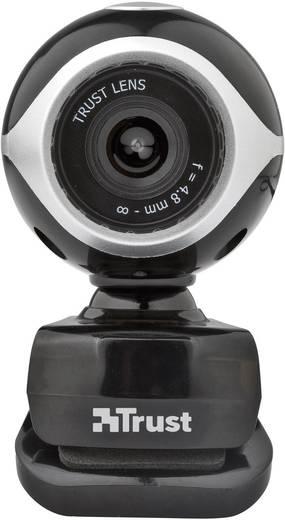 Webcam 640 x 480 Pixel Trust Exis Chatpack Standfuß, Klemm-Halterung, inkl. Headset