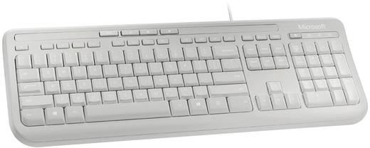 USB-Tastatur Microsoft Wired Keyboard 600 Grau Spritzwassergeschützt