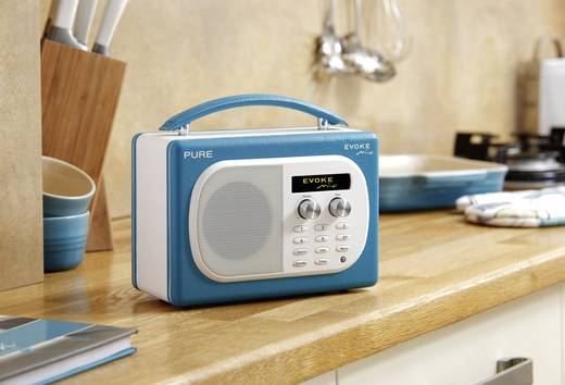 pure evoke mio dab radio teal kaufen. Black Bedroom Furniture Sets. Home Design Ideas