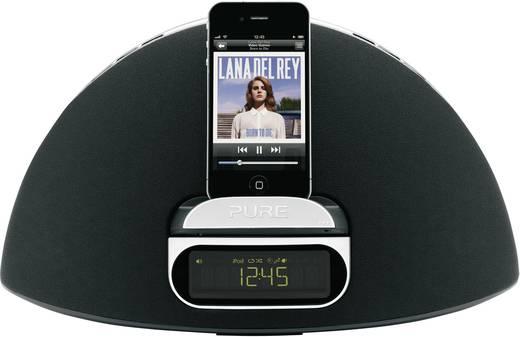pure contour 100di dab radio mit ipod iphone ipad dockingstation. Black Bedroom Furniture Sets. Home Design Ideas