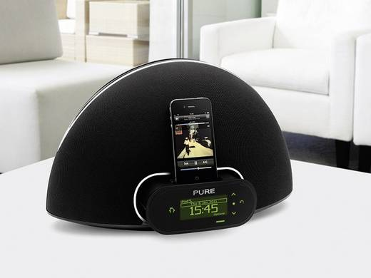 pure contour internet dab ukw radio mit dockingstation f r ipod und iphone kaufen. Black Bedroom Furniture Sets. Home Design Ideas