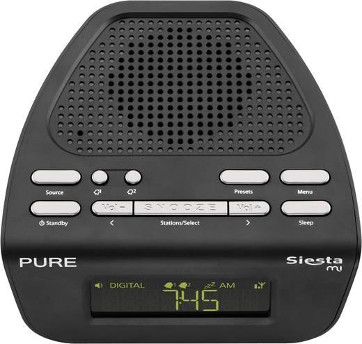Pure Siesta Mi Serie II UKW Radiowecker UKW Schwarz