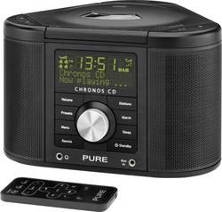 Rohové DAB+ rádio s CD Pure Evoke Chronos CD Serie II, FM, černá