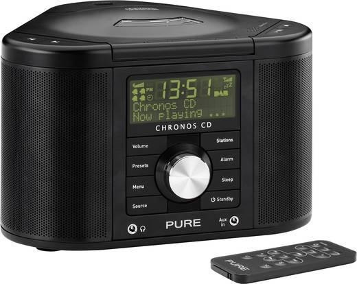 Pure Chronos CD Serie II DAB+ Radiowecker AUX, CD, DAB+, UKW Schwarz